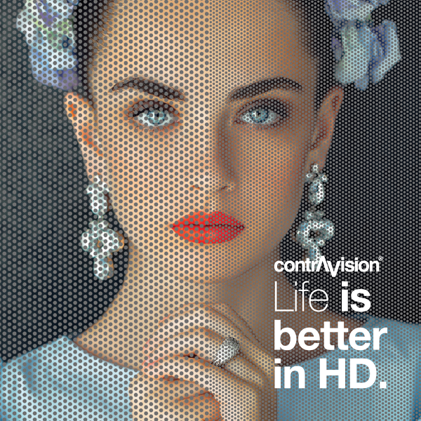 Life is better in HD...Contra Vision-1