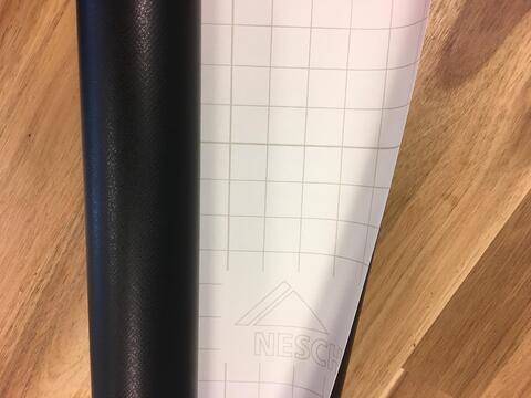 Flexibele krijtbordfolie kantoorwand 9