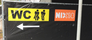 Easy Dot stickers plakken voor evenement 4