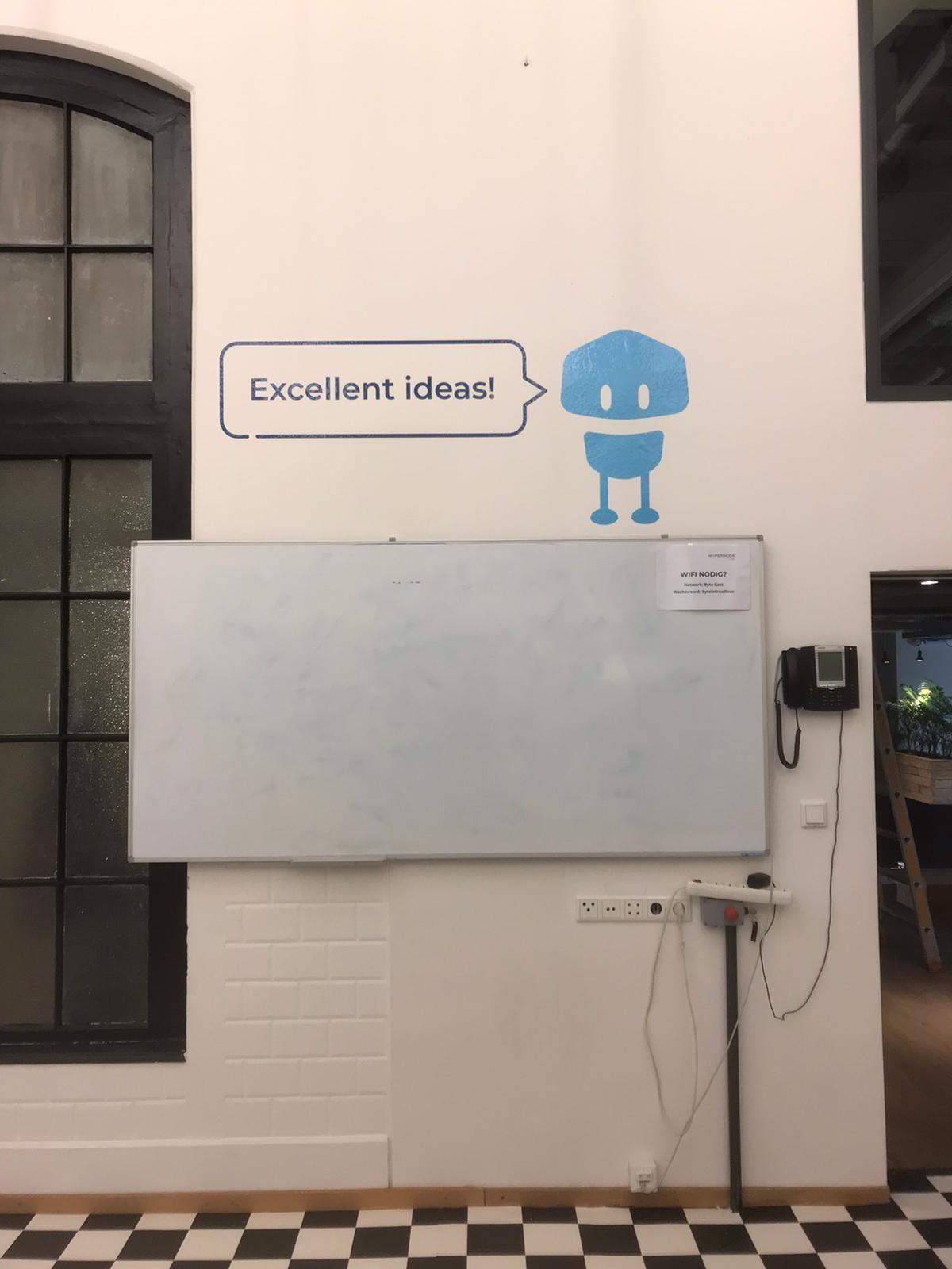 Wall-grip signage ideas