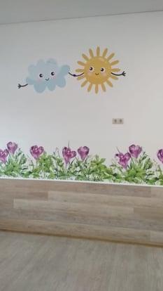 Wallpaper kinderdagverblijf