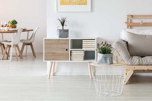 Zelfklevende meubelfolie woonkamer 1
