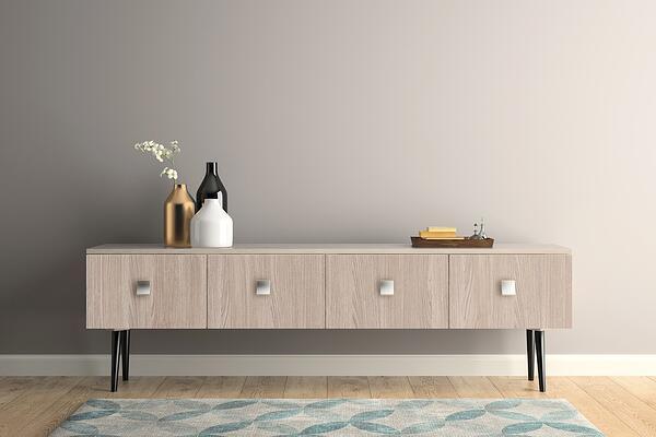 Zelfklevende meubelfolie woonkamer 2