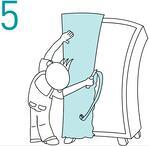 Zelfklevende meubelfolie aanbrengen - stap 5