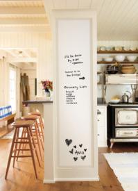 Whiteboard laminaat keuken