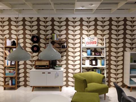 Zelfklevende folie interior design - foto behang 1