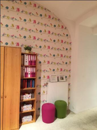 Zelfklevende folie interior design - foto behang 2