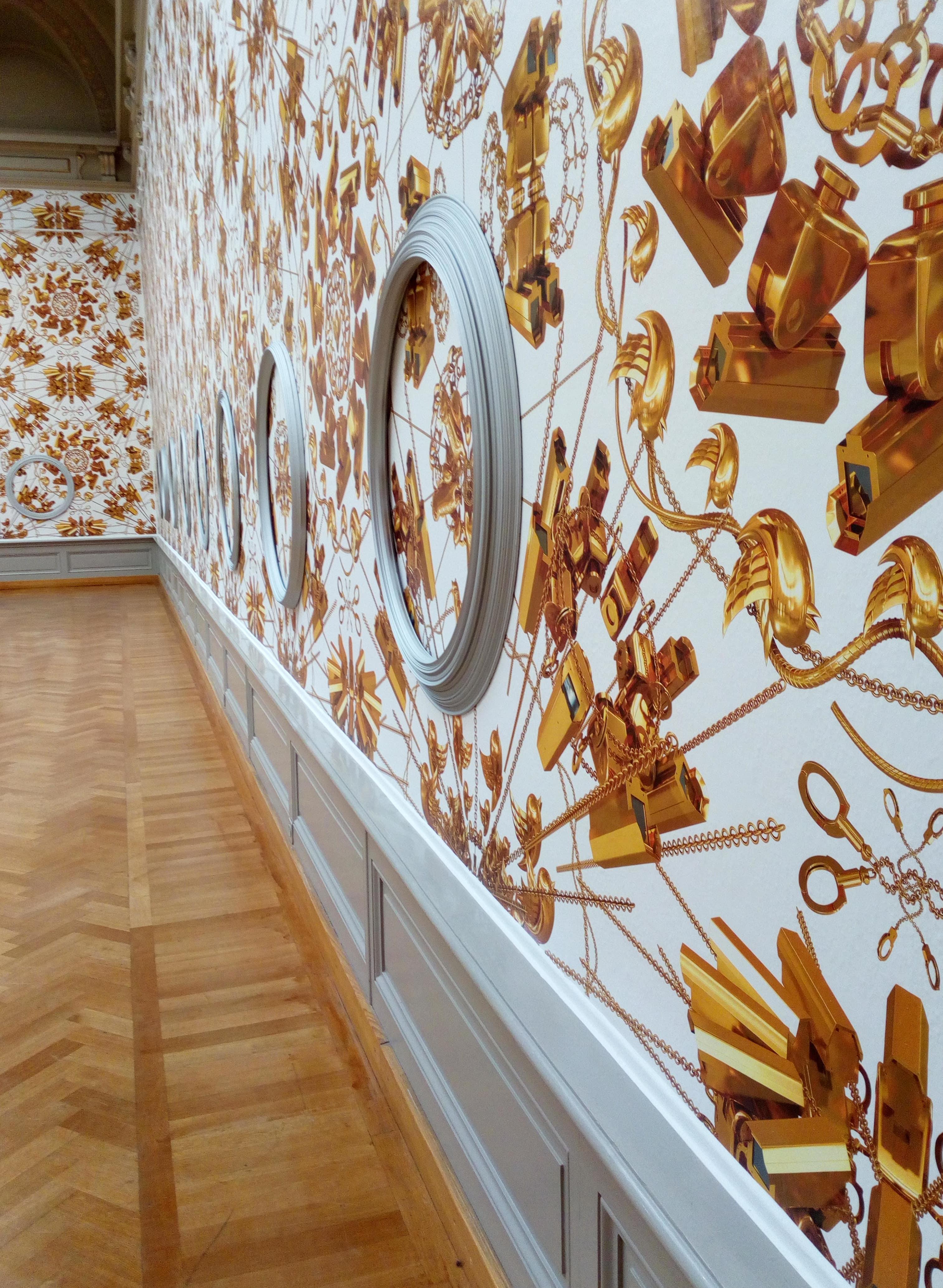 Een museum sfeervol inrichten met een bijpassend printbaar behang